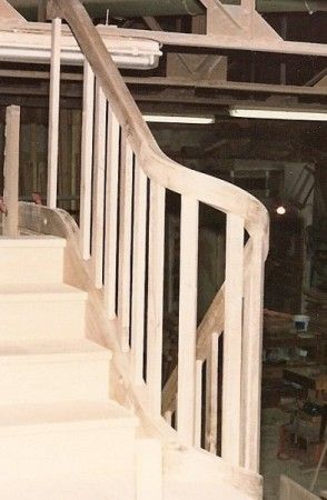 Best Wreathed Handrail On Inside Of Winder Stair Handrail 640 x 480