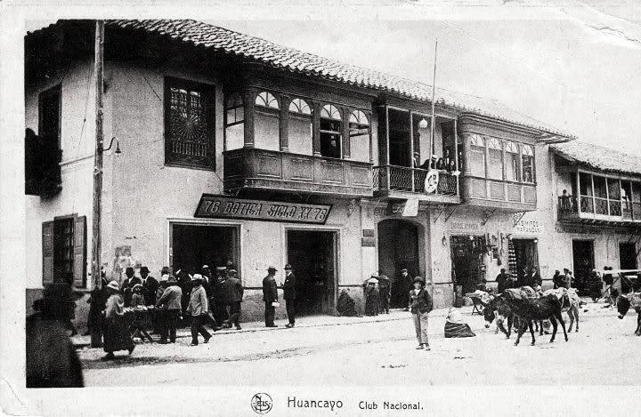 Resultado de imagen para club de huancayo antiguo