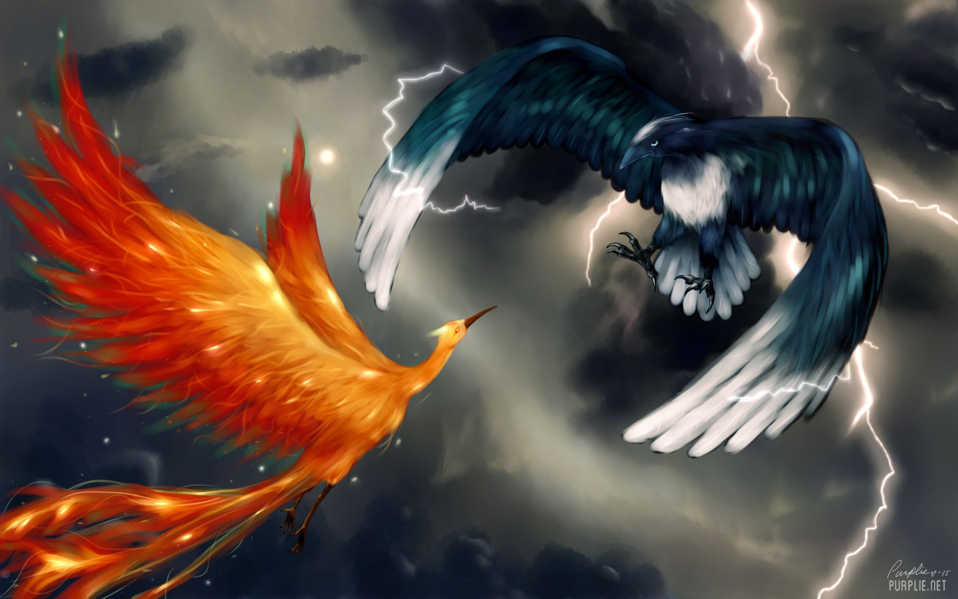 Tempest and Fireburst, Feathered Brothers 1a005ce928890c98d28c0299de0dbdd7
