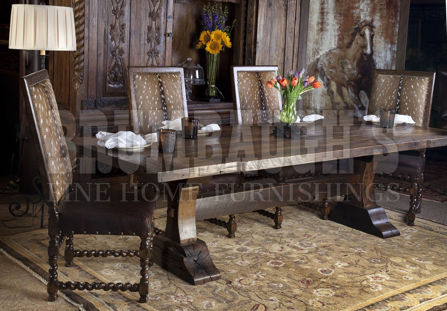 Lexington Dining Table  Fort Worth Forts And Barn Inspiration Upscale Dining Room Furniture Review