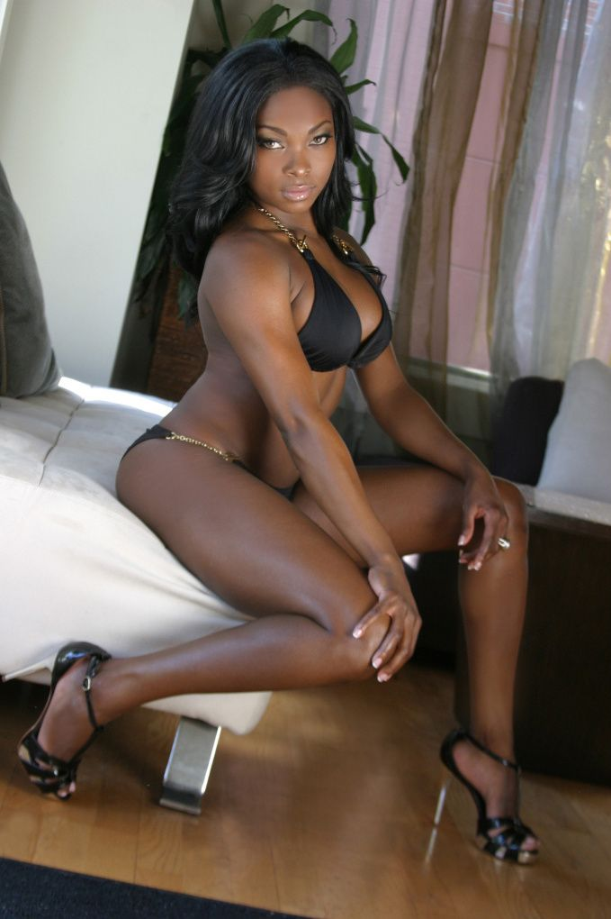 Black ebony lady