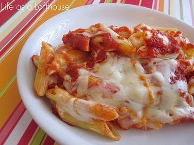 Red & White Pasta