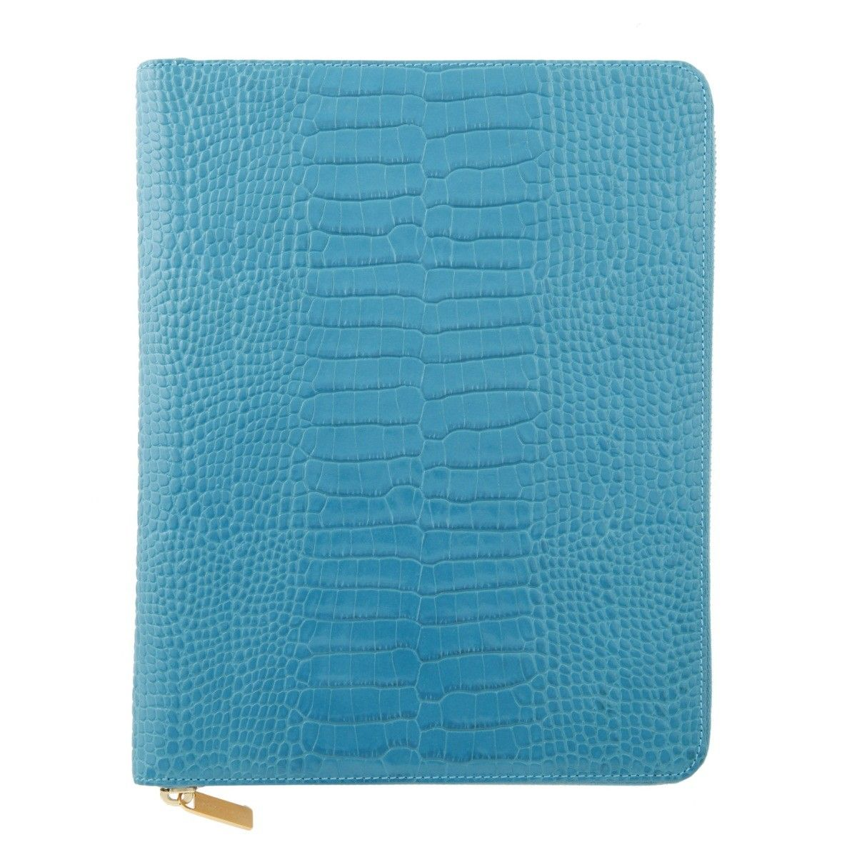 Zipped iPad 2 Case, Turquoise Collection - Smythson - For Her