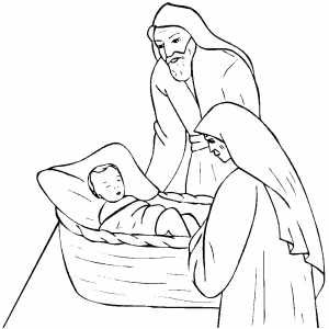 Abraham And Sarah Coloring Sheet