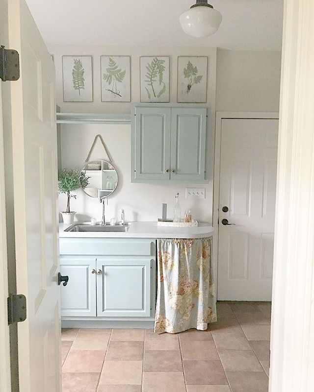 Cabinets: Halcyon Green by Sherwin Williams / Walls ...