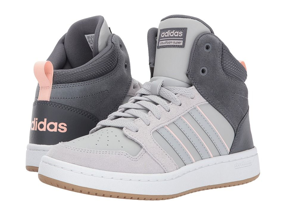 Adidas Originali Adidas Cloudfoam Super Hoops Mid (Grey 5 / Grey