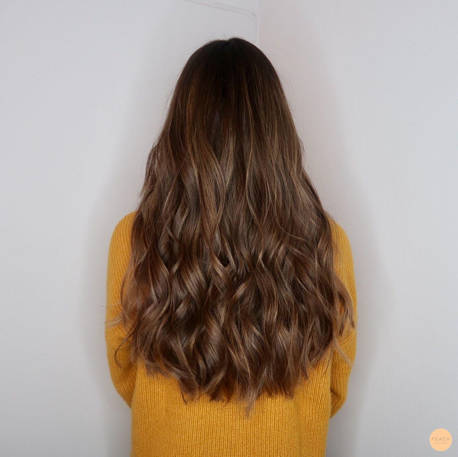 brunt hår nyanser