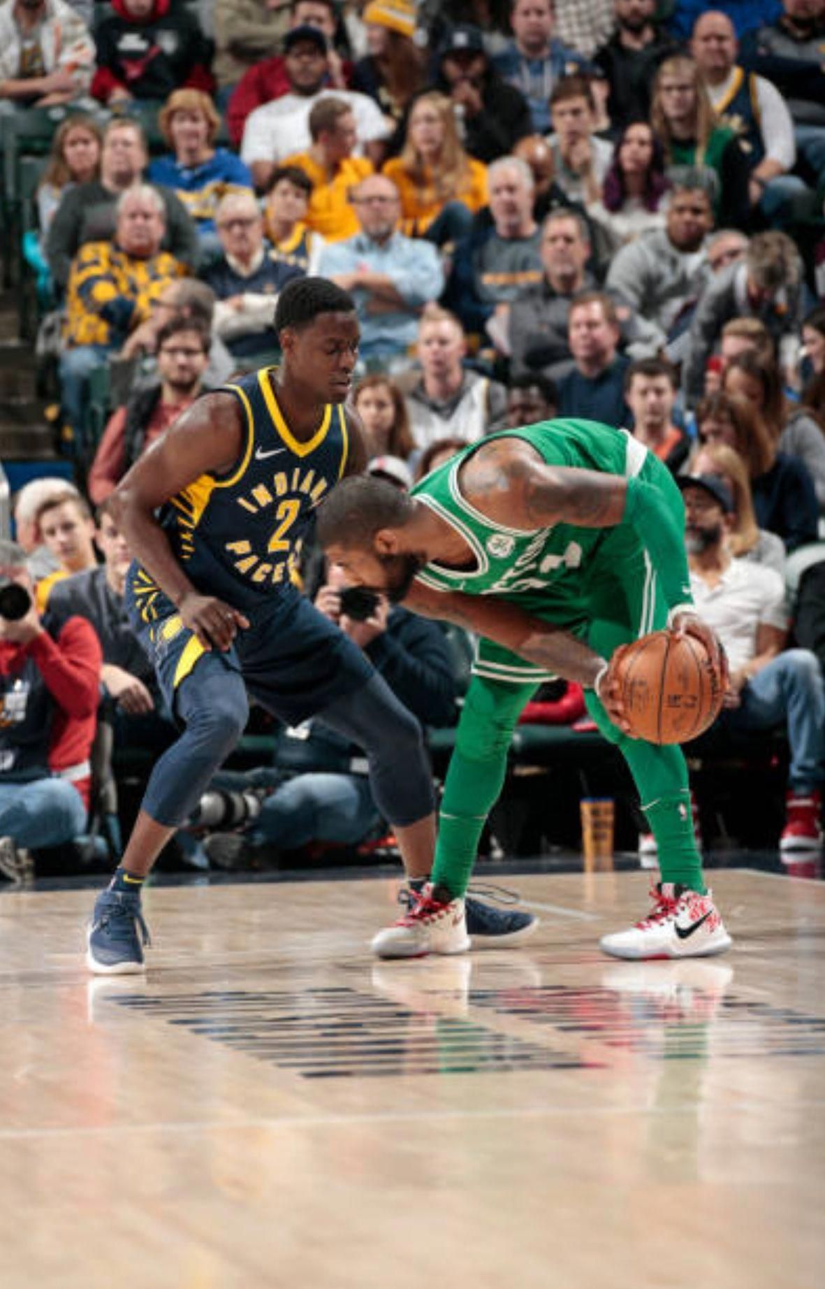 e4dc475941e At 10.2 seconds  KyrieIrving came in clutch converting a score of 107-111  to 110-111 with a 3 pt shot. THEN at 1.5 seconds Rozier stole the ball and  made a ...