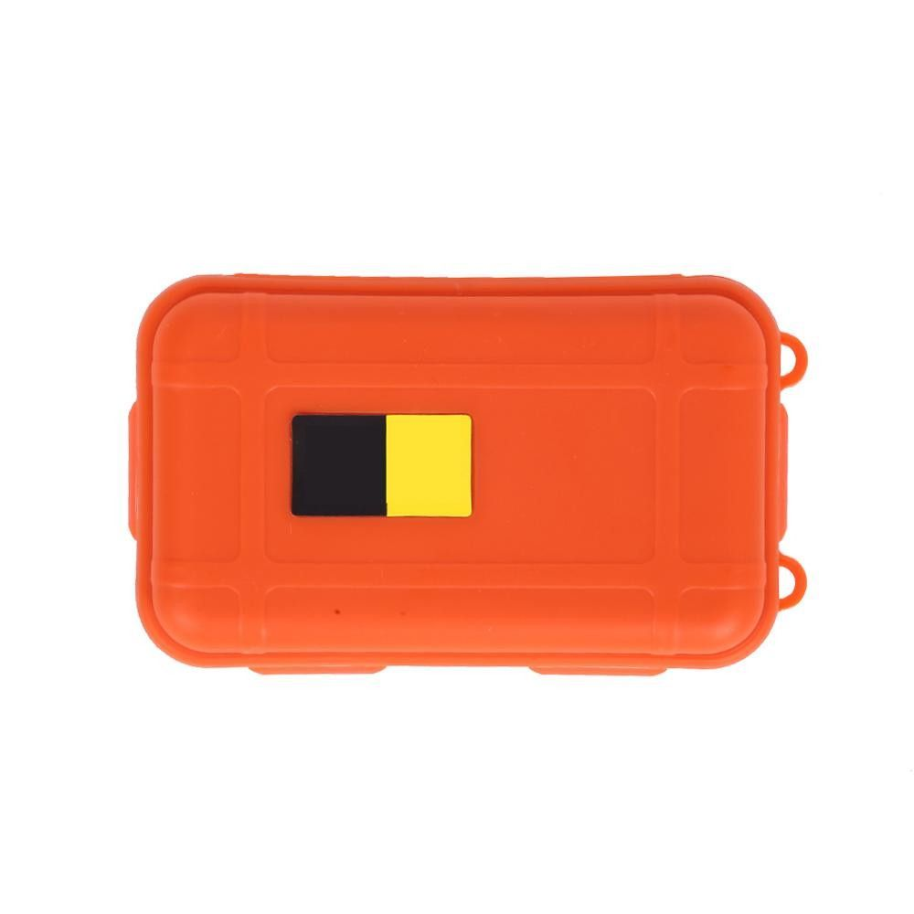 Plastic shockproof Box Outdoor Shockproof Waterproof Airtight Survival Storage Case Container Carr H1E1