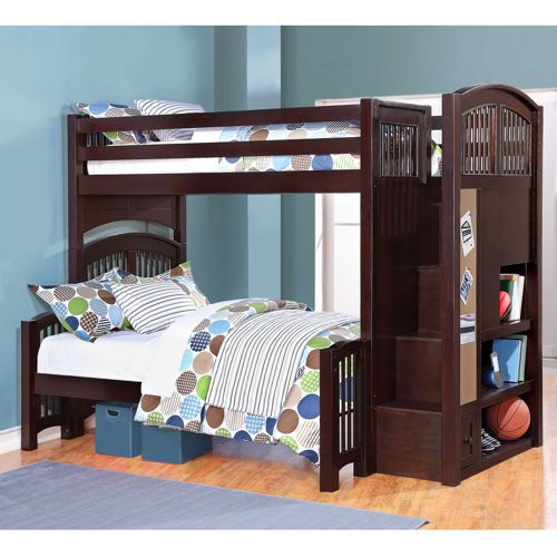 1149 250 Off Costco Twin Over Full Bunk Bed Stairway Bunk Beds Bunk Beds With Stairs Twin over full bunk beds with stairs