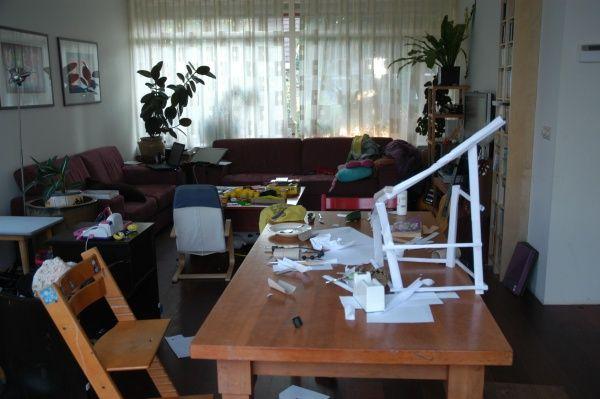 Rommelige woonkamer | VID: Doelgroep | Pinterest