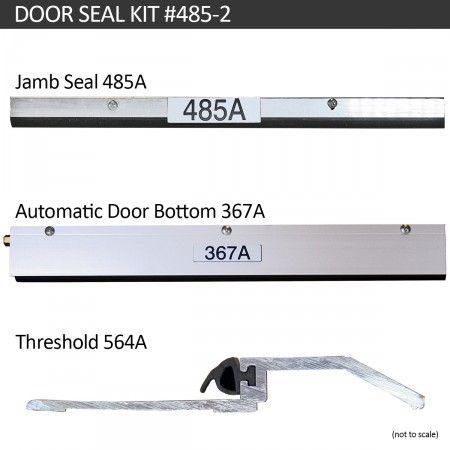 Acoustic Door Seal Kit Com Imagens Portas