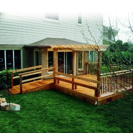 Handicap Ramps From Deck Bing Images Home Decorating