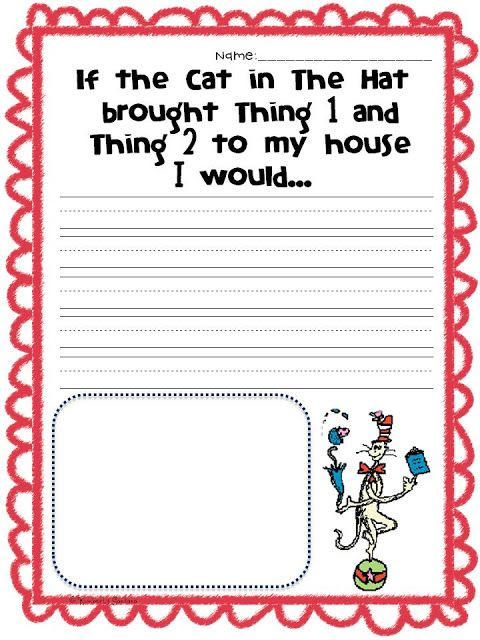 The Learning Tree: Dr. Seuss and a FREEBIE!