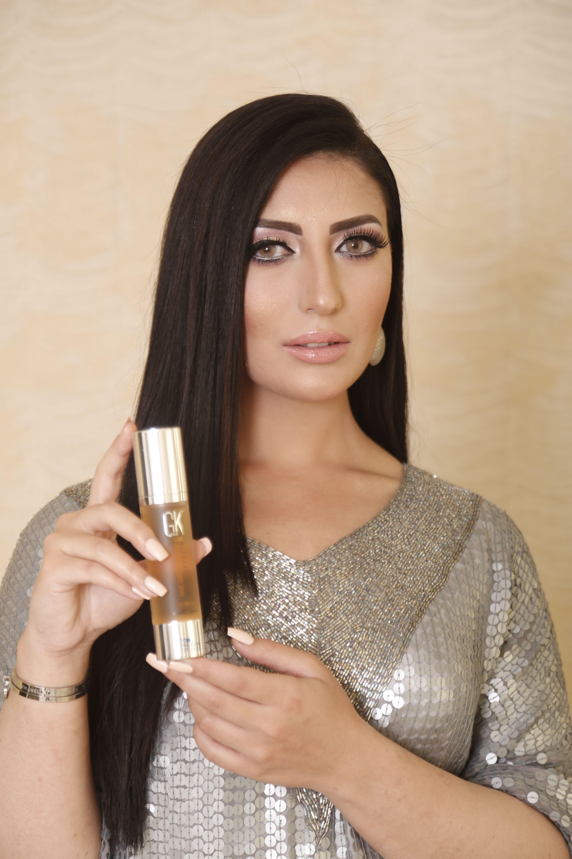 Gkhair Gold Serum For Best Shine Hair beauty, Hair serum