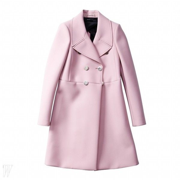 달콤한 파스텔 컬러 아이템 W korea ❤ liked on Polyvore featuring outerwear, jackets y coats