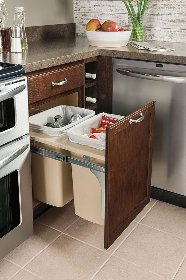 Merveilleux Our Base Wastebasket Cabinet Has Full Extension, Floor Mounted Guides That  Allow For Easy