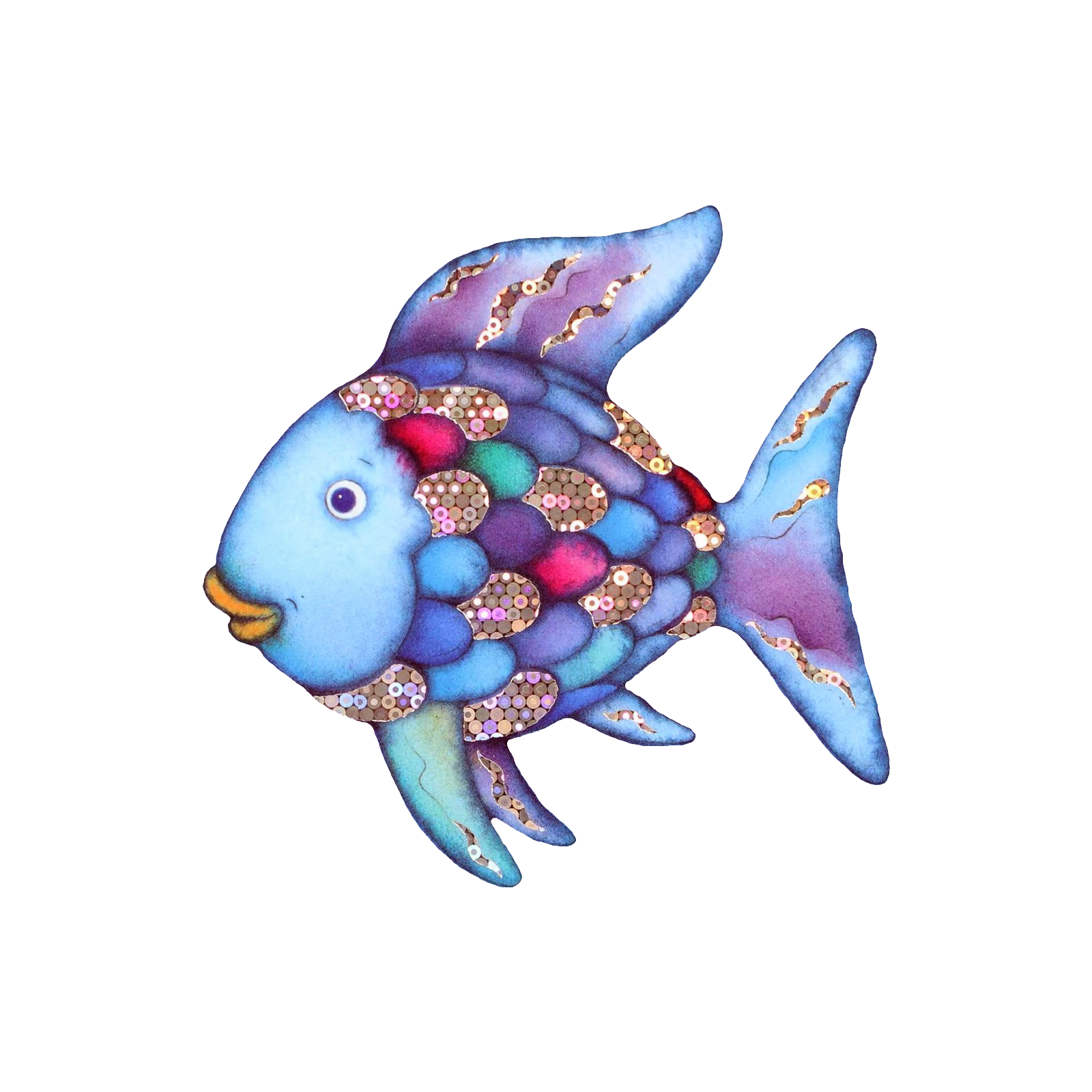 Rainbow Fish With Images Rainbow Fish Fish Design Art