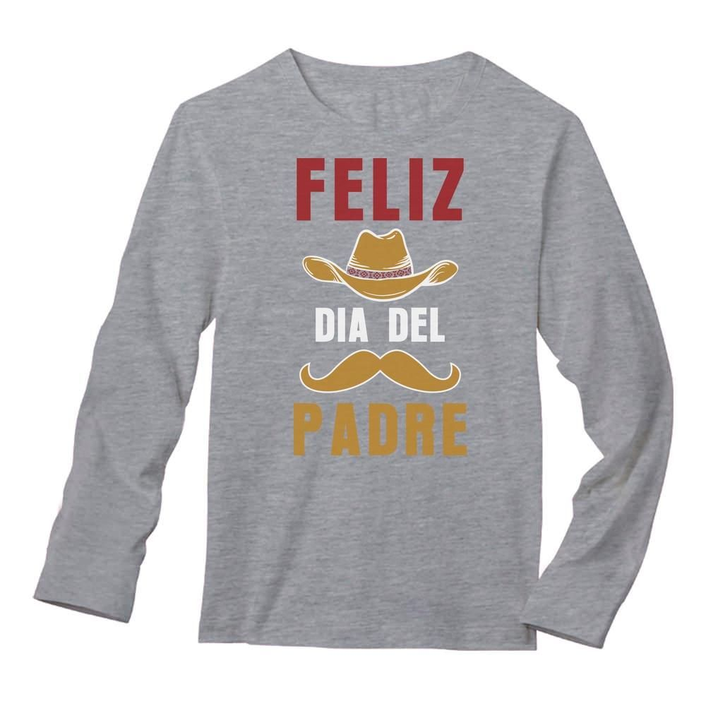 Feliz Dia Del Padre Long Sleeve T-Shirt