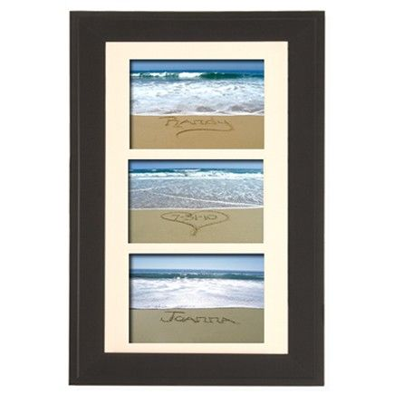 Unique Wedding Gift Bride And Groom S Names Written In Sand With Date Custom Framed
