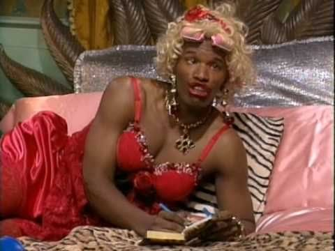 """Jamie Foxx's on """"In Living Color"""" as Wanda 