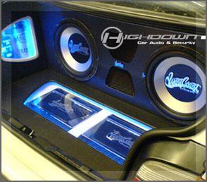 glass speaker systems set up for cars car audio a car. Black Bedroom Furniture Sets. Home Design Ideas