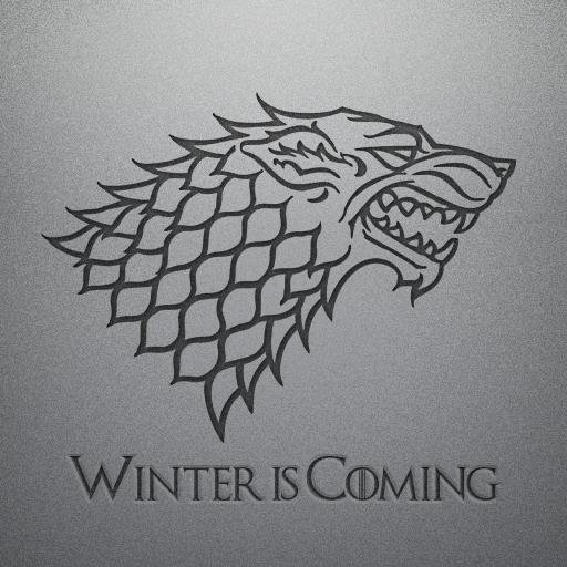 Stark Icon House Stark Sigil Dire Wolf House Stark