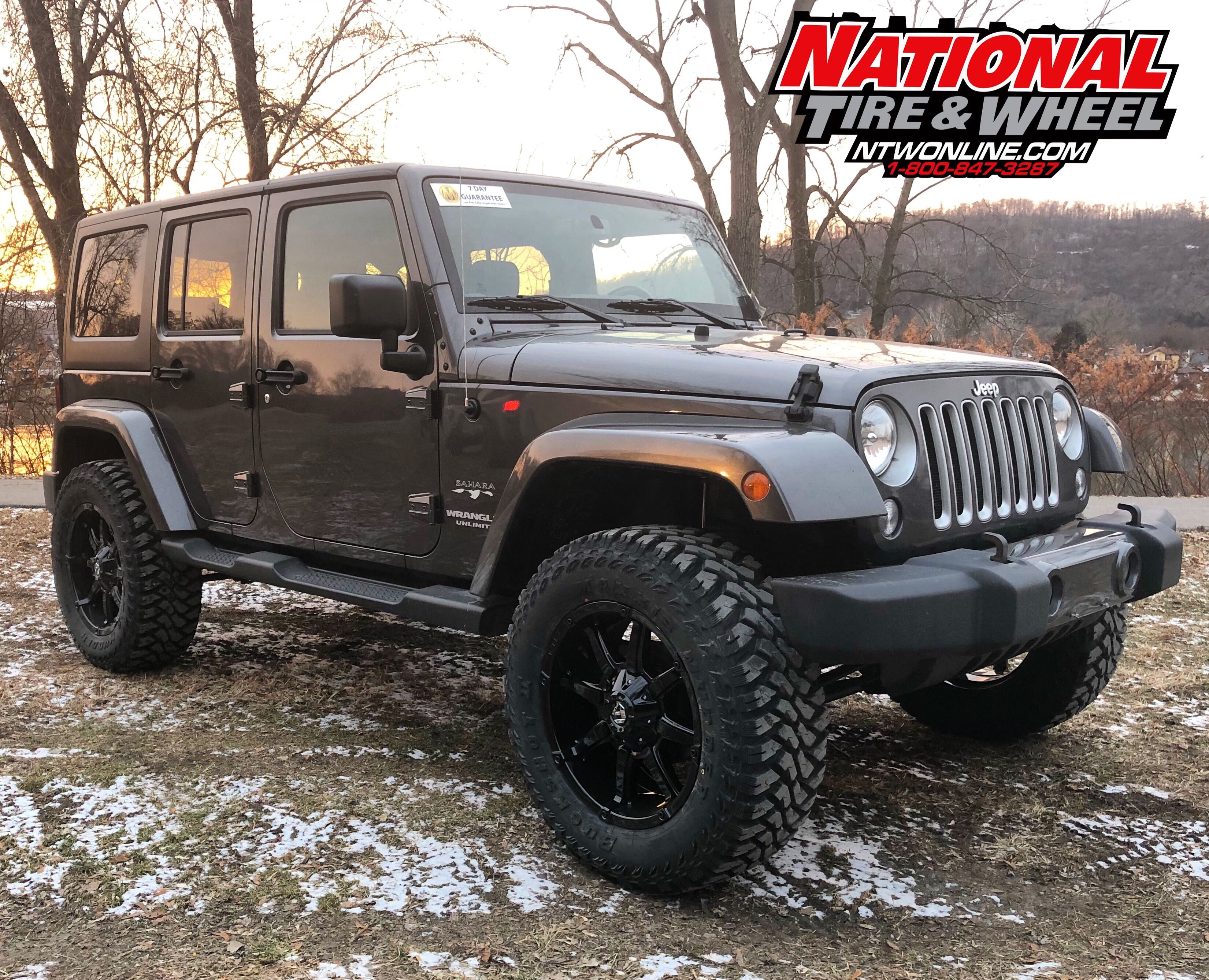 Ntw Install This 2016 Jeep Wrangler Jk Received A 2 5in Rough