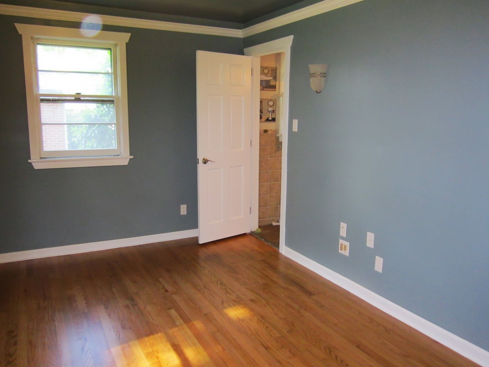 Benjamin Moore Van Courtland Blue Blue Bedroom Decor