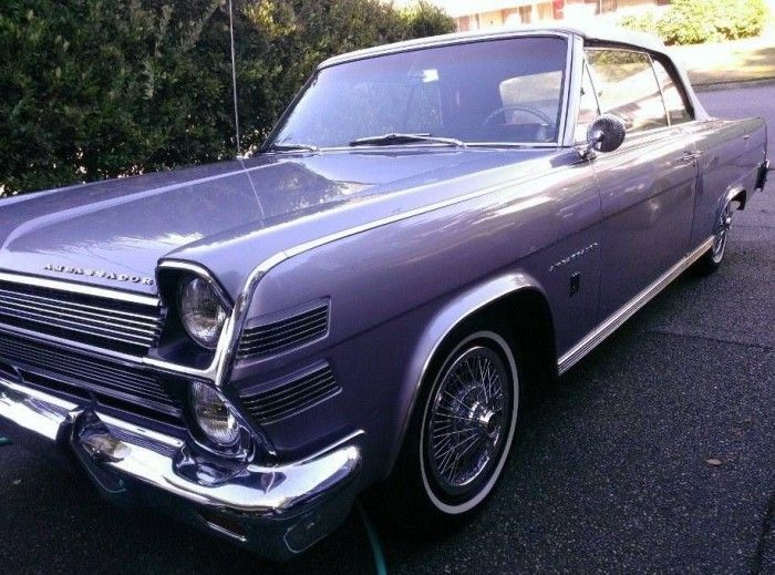 1966 Amc Ambassador 990 Convertible Amc American Motors Ride 2