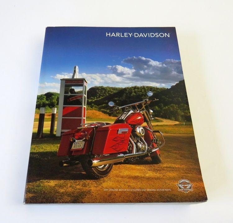99164b3a66 2007 Harley Davidson Genuine Motor Accessories & Parts Catalog HARLEY- DAVIDSON