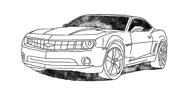 Camaro Cars On The Street Coloring Pages Best Place To Color In 2020 Camaro Car Camaro Cars Coloring Pages