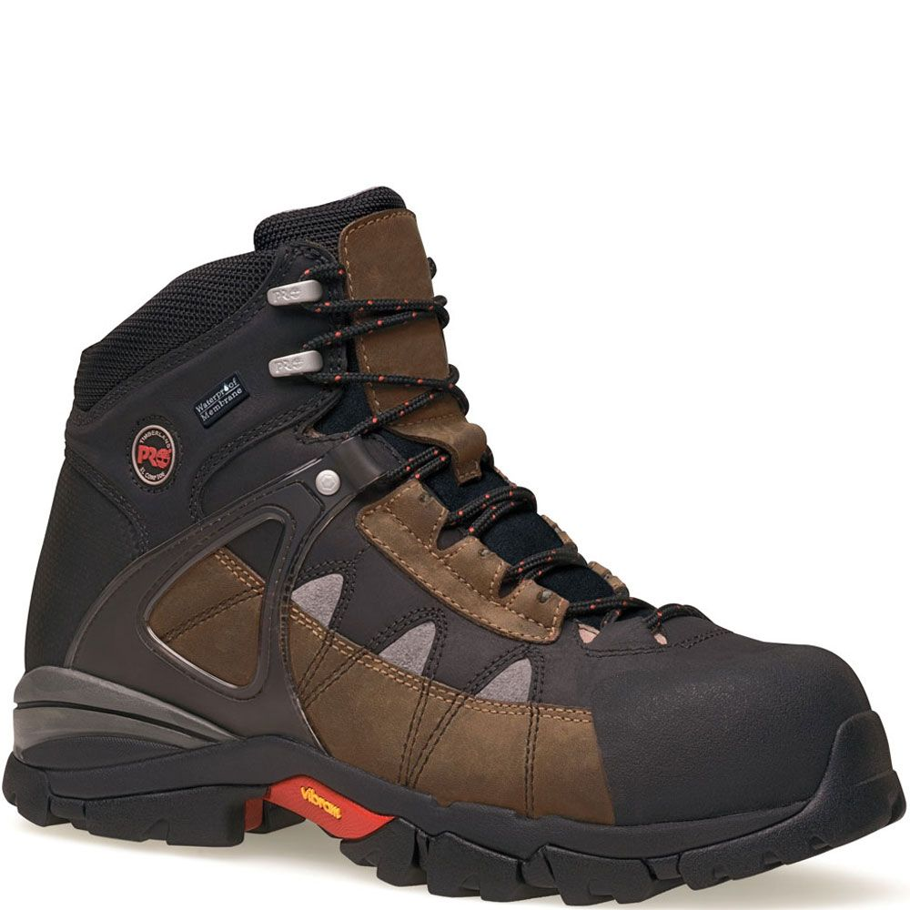 090646214 Timberland PRO Men's Hyperion Safety Boots - Brown. Botas De ...