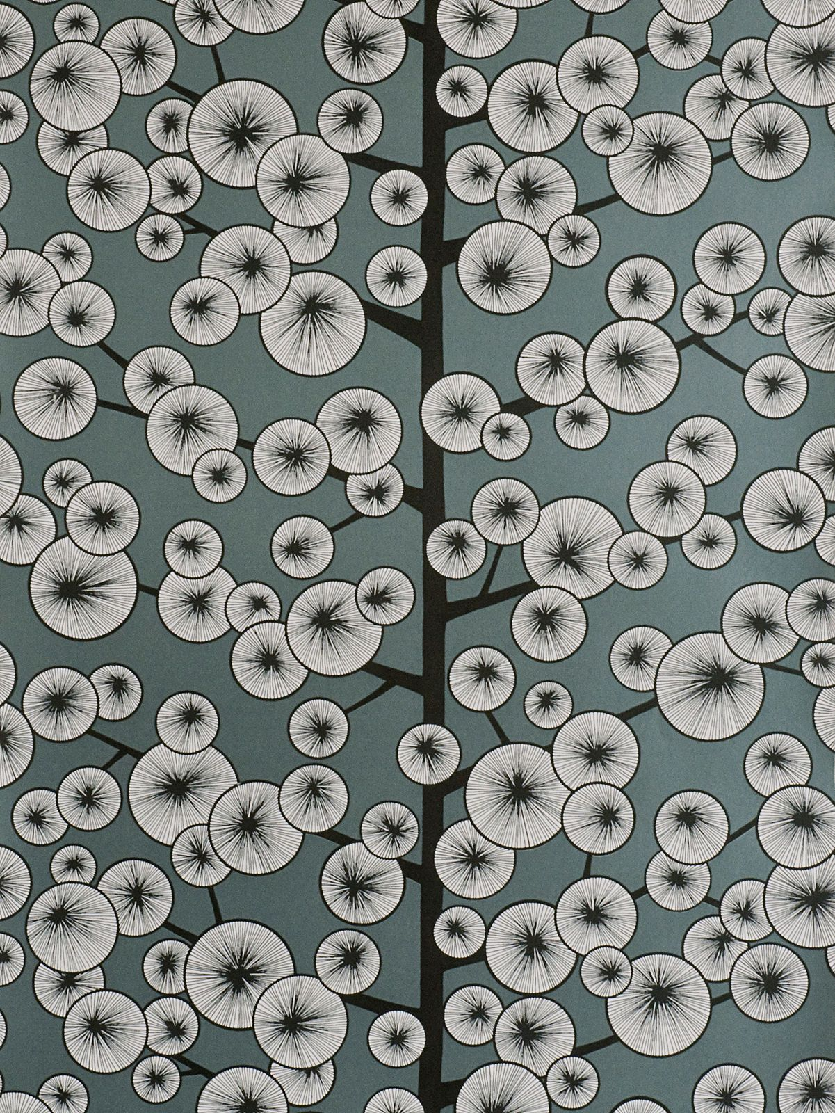 Buymissprint Cotton Tree Wallpaper, Grey, Misp1037 Online At Johnlewiscom