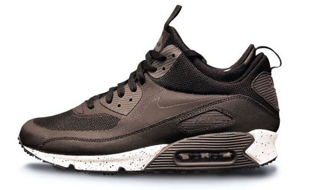 los angeles 014f1 dbdec Nike Air Max 90 SneakerBoot Black Dark Charcoal