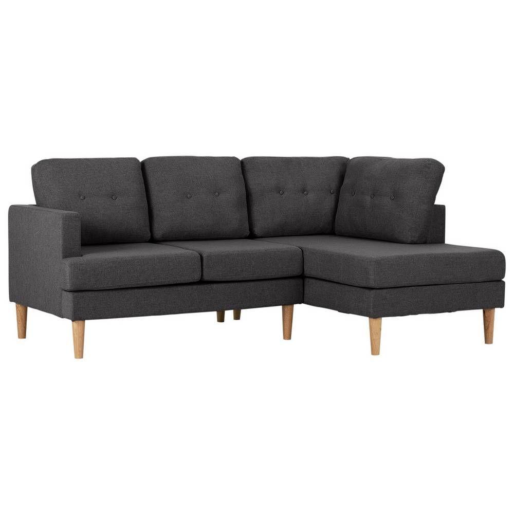 Buy Argos Home Joshua Right Corner Fabric Sofa Charcoal Sofas Fullers House Ideas In 2019 Charcoal Sofa Fabric Sofa Sofa