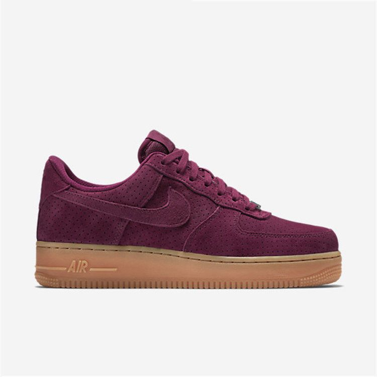 new products 92c0a c89fa Nike Air Force 1 Low Wine Red Burgundi Hot Fashion Women Shoes  Nike   RunningCrossTraining