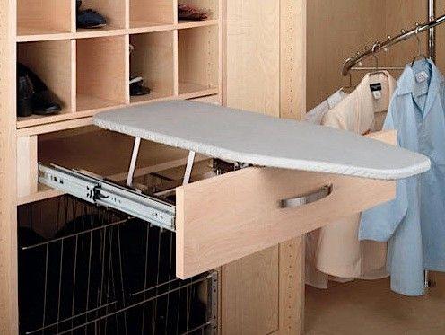 Rev A Shelf Cib 16cr Chrome Vib Series Pull Out Close Depth Ironing Board Laundry Room Design Laundry Room Storage Iron Board