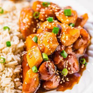 Slow Cooker Orange Chicken #chineseorangechicken