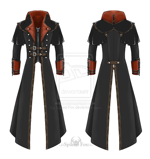 Post-apocalyptic trench-coat by Spiked-Fox...wonder if i can make something similar