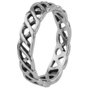 Celtic Silver Ring Knotwork 0023