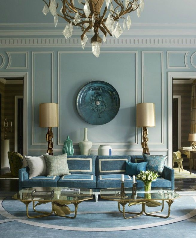 Elle Decor Predicts The Color Trends For 2017 Golubye Interery