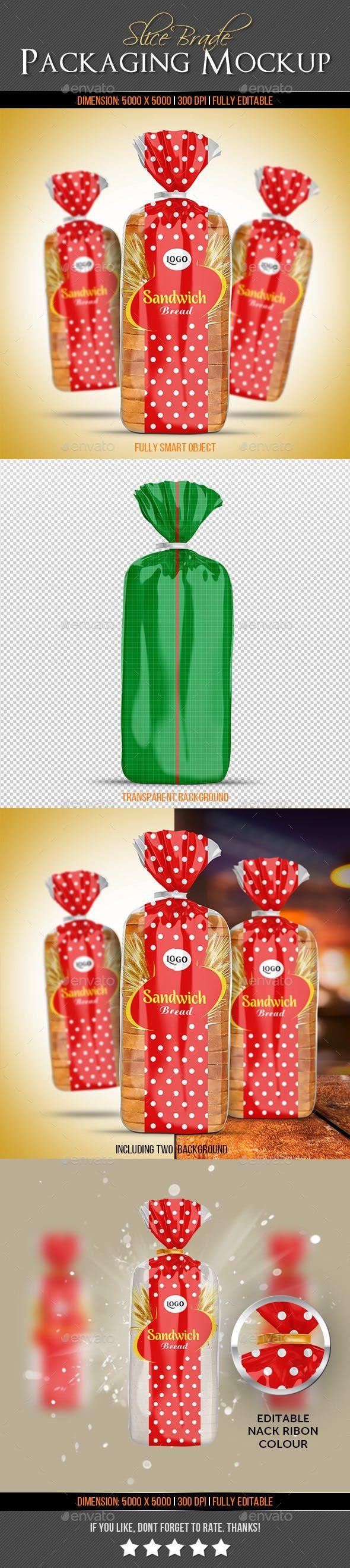 Download Slice Bread Packaging Mock Up