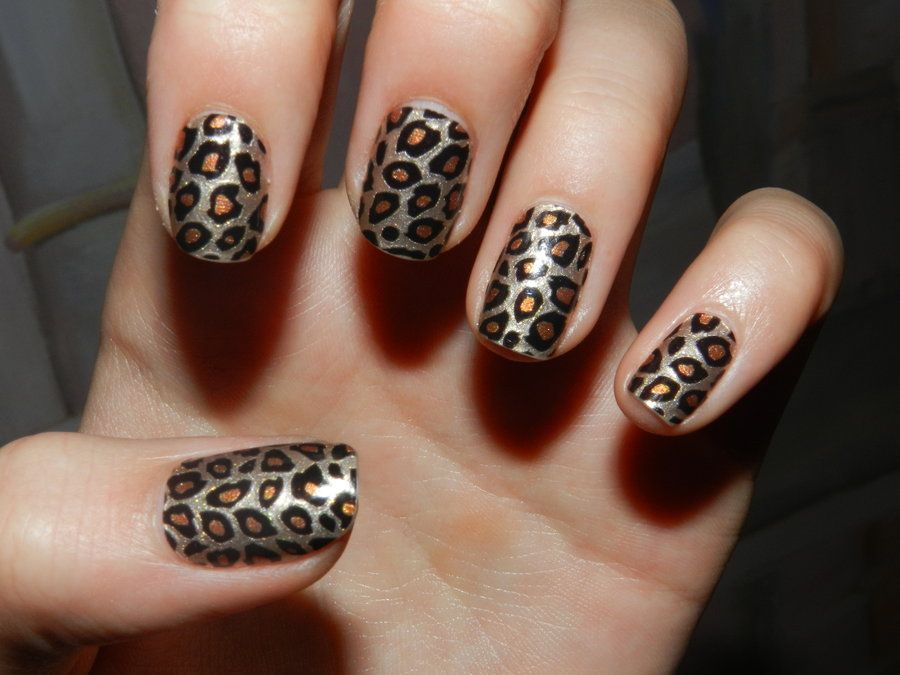 Leopard nail art by 15071994 on deviantart cats and the leopard nail art by 15071994 on deviantart prinsesfo Choice Image