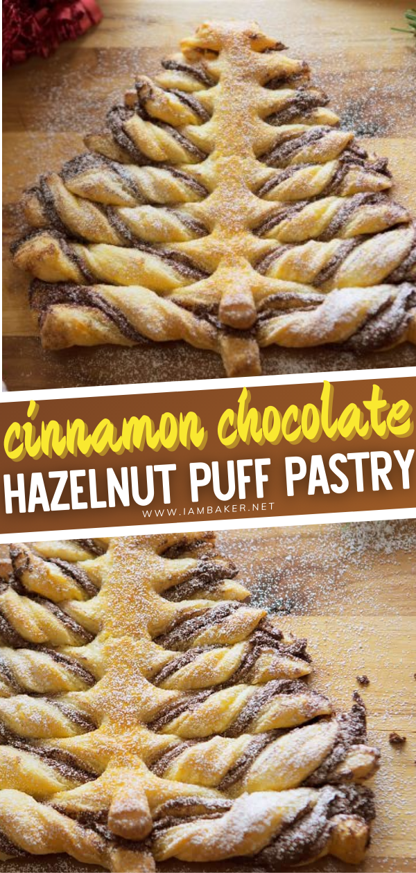 Christmas Around The Corner 2020 Cinnamon Chocolate Hazelnut Puff Pastry in 2020   Christmas
