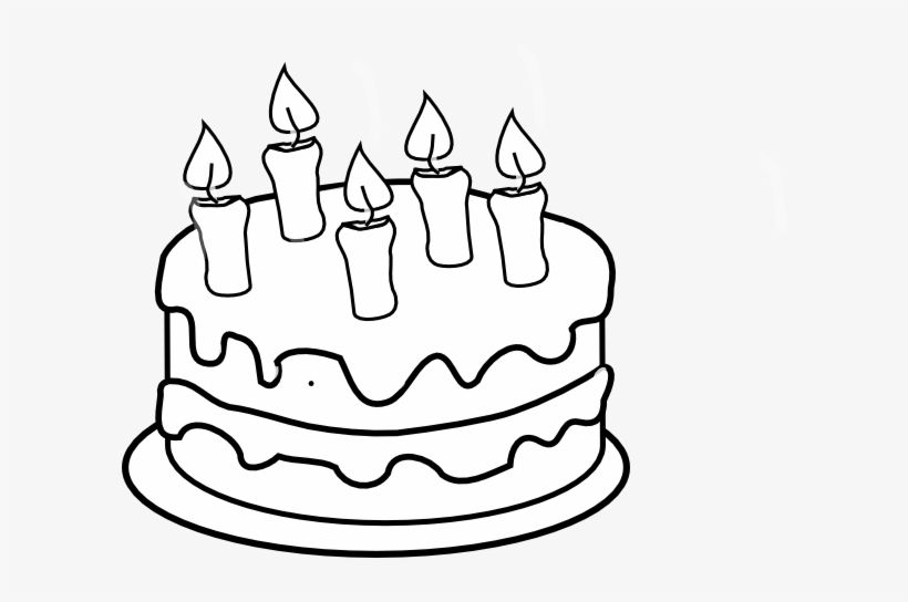 Birthday Cake Candles Clipart Black And White Birthday Cake With Candles Clipart Black And White Candle Clipart