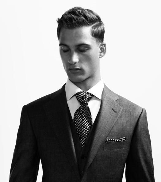 40 Hard Part Haircuts For Men Sharp Straight Line Style Clothing
