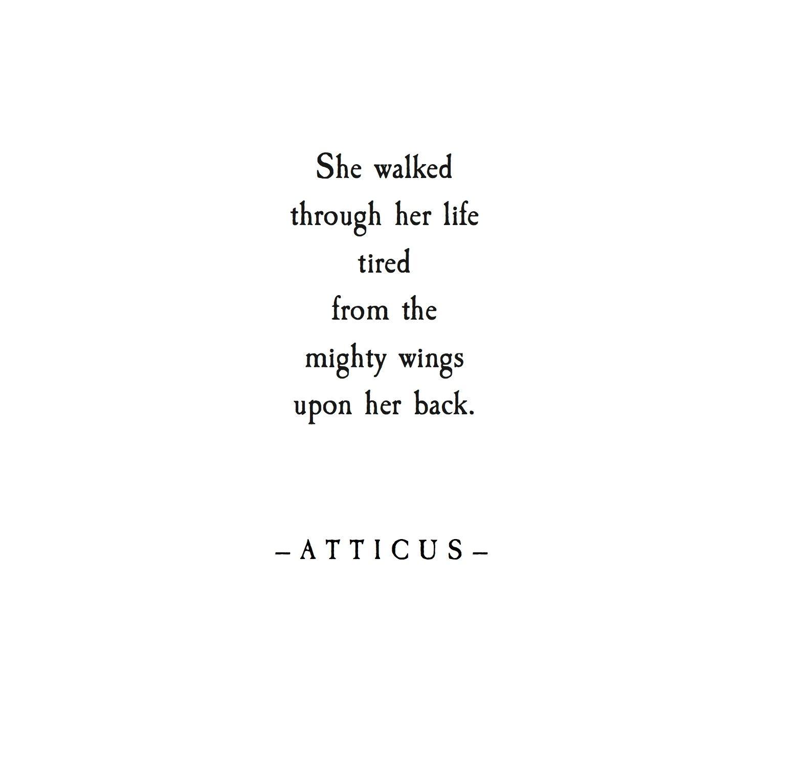 xx. #atticuspoetry #wings | Quotes | Pinterest | Citas en español ...