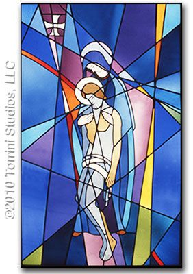 church banner patterns | Church Banners | Stained Glass