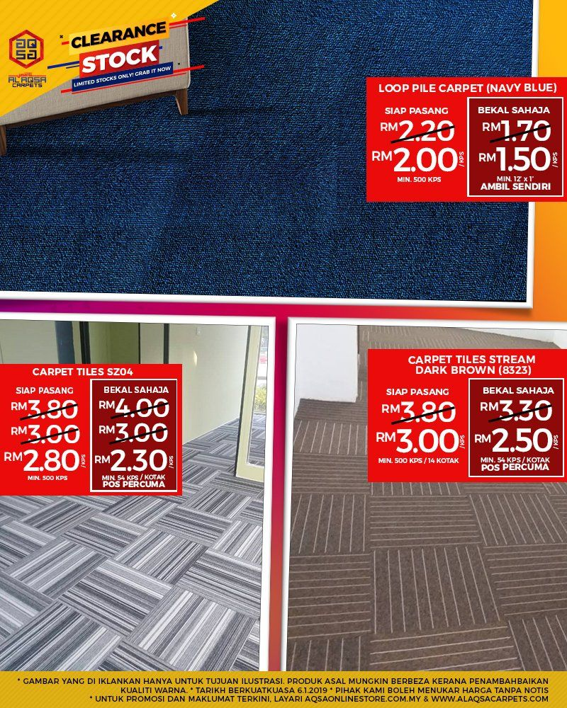 Stock Clearance Sale Carpet Tiles Cheap Office Carpet Malaysia